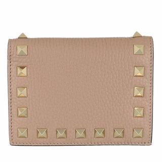 Portemonnees - Rockstud Small Wallet in grijs voor dames