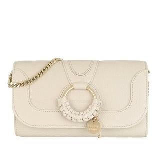 Portemonnees - Hana Wallet On Chain in beige voor dames