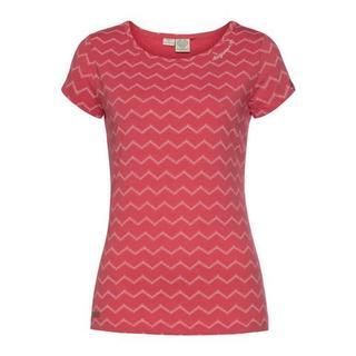 """shirt met ronde hals MINT CHEVRON met expressieve """"zig zag"""" print all-over"""