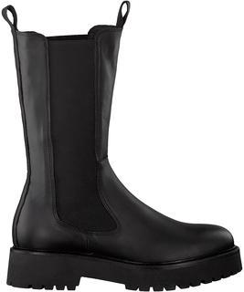 Zwarte Chelsea Boots Moda01