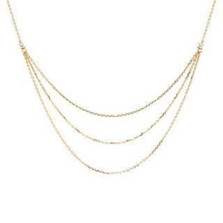 - Nia Necklace in goud voor dames