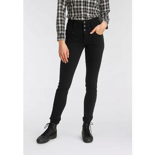 Slim fit jeans Met extra brede band High Waist