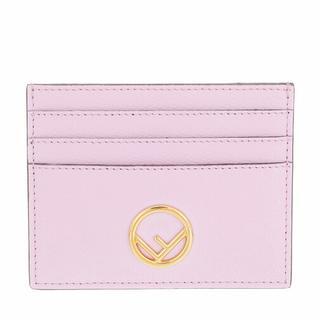 Portemonnees - Flat Card Holder in paars voor dames