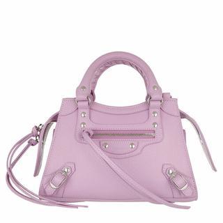Satchels - Neo Classic Mini Top Handle Bag Grained Calfskin in paars voor dames