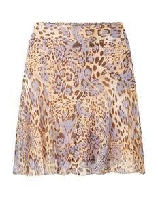 Minirok met luipaard print