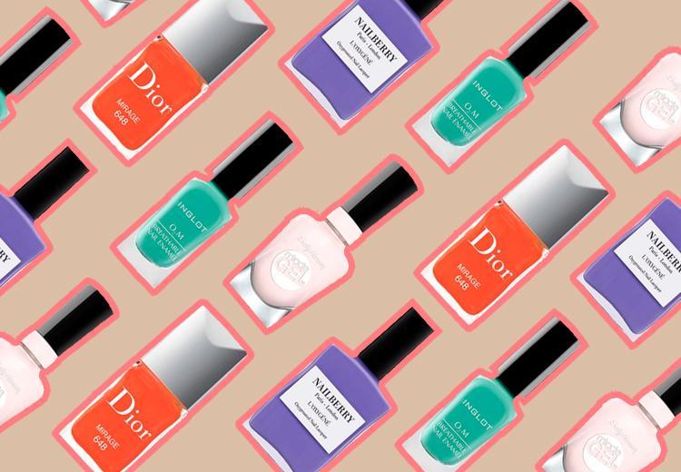 Kies deze 9 nagellaktinten voor bruinere voeten