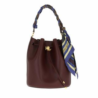 Bucket bags - Andie 25 Drawstring Large in bordeaux voor dames
