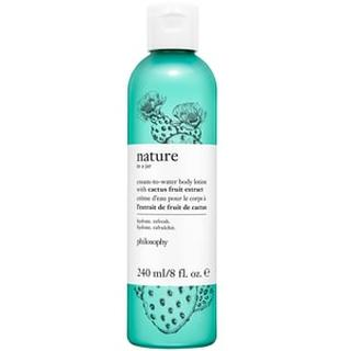 Cream To Water Body Lotion With Cactus Fruit Extract CREAM-TO-WATER BODY LOTION WITH CACTUS FRUIT EXTRACT  - 240 ML
