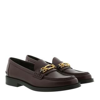 Loafers & ballerina schoenen - Elodie Flat Loafer in rood voor dames