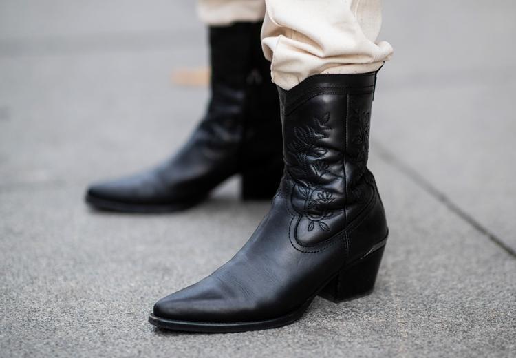 24x zwarte cowboylaarzen om nú in huis te halen