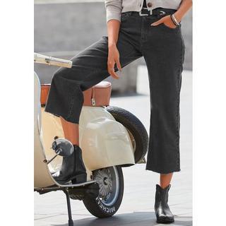 ankle jeans in broekrok-stijl