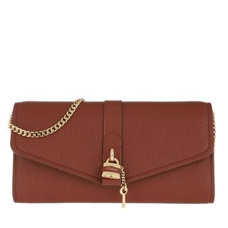 Cross Body Bags - Aby Wallet on Chain Sepia Brown in bruin voor dames