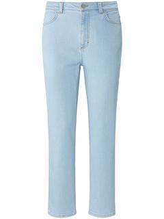Enkellange Slim Fit-jeans in  4-pocketsmodel denim