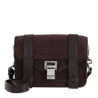 Crossbody bags - PS1 Mini Suede Crossbody in rood voor dames