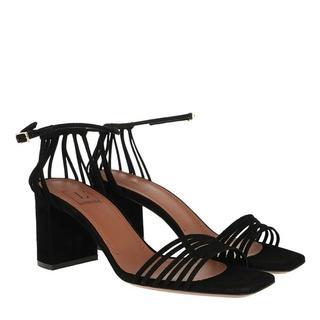 Pumps & high heels - Suede Heel in zwart voor dames