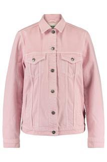 Dames Trucker Jacket Hilda Wit