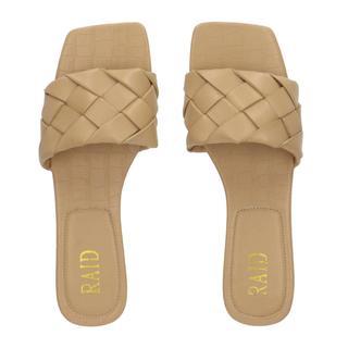 Eleah slippers lichtbeige