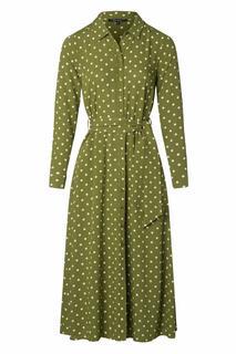 60s Rosie Pablo Midi Dress in Olive Green