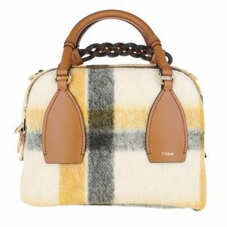 Bowlingtas - Daria Medium Bowling Bag Leather in brown voor dames