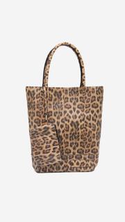 Natural bag luipaard