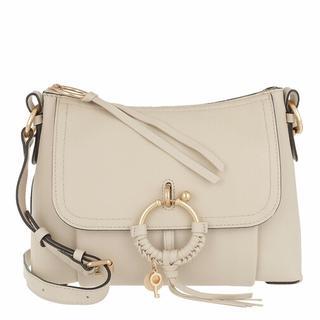 Crossbody bags - Hana Foldover Satchel in beige voor dames
