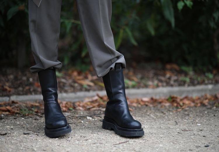 Trend: oversized pakken met stoere boots