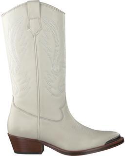 Witte Lange Laarzen 10964