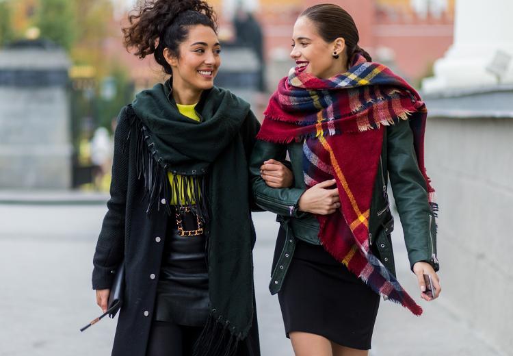 Warm de winter door met de mooiste sjaals