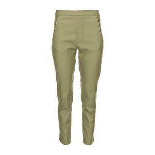 Leather Pants Merle in Green