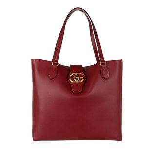 - Dhalia Tote Bag Leather in rood voor dames