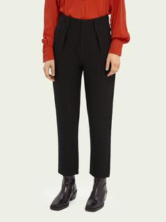 High-rise tapered fit broek