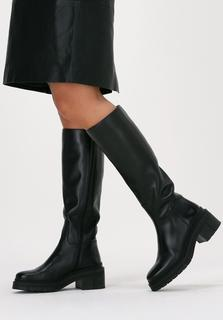Zwarte Hoge Laarzen Josua