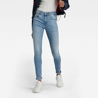 3301 High Skinny Jeans - Midden blauw - Dames