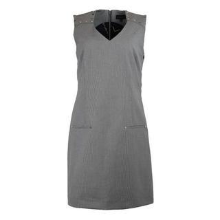 jurk TPR403 noir & blanc - Grijs