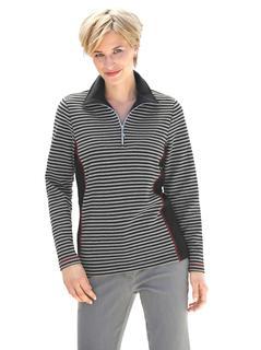 sweatshirt in zachte interlockkwaliteit