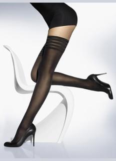 Velvet de Luxe stay-ups in 50 denier