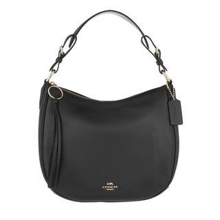 Hobo Bags - Pebble Sutton Hobo Bag Leather Black in zwart voor dames