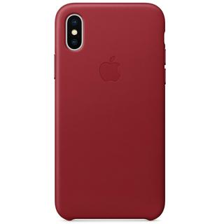 iPhone X Hoesje: Leather Backcover