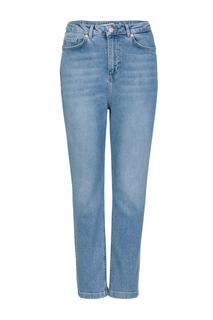 Dames Mom jeans lichtblauw