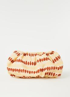 Clutchy clutch met tie-dye dessin