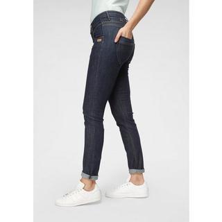 skinny fit jeans Medina met stijlvolle, half open knoopsluiting