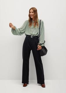 Wijd uitlopende blouse