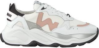 Witte Lage Sneakers Futura