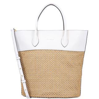 Diana Shopper Tas Leer 29 cm caramel/lambskin white