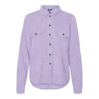 corduroy blouse VMBERTA lila