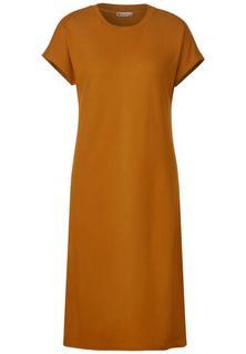 Jersey jurk met klinknagels