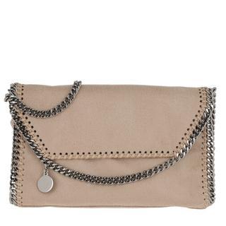 Crossbody bags - Falabella Shaggy Deer Mini Shoulder Bag Navy in beige voor dames