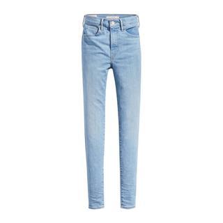 Mile high waist super skinny jeans lichtblauw