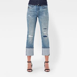 Noxer Straight Selvedge Jeans - Straight Fit - Taillehoogte Normaal