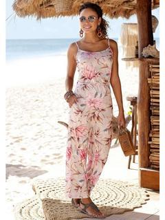 s.Oliver Beachwear jumpsuit in culotte-stijl